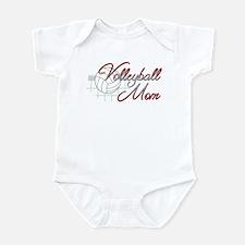 Volleyball Mom 3 Infant Bodysuit