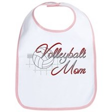 Volleyball Mom 3 Bib