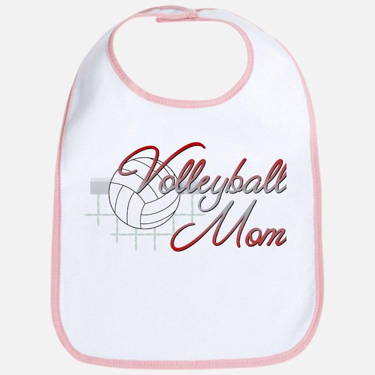 Volleyball Mom 3 Bib