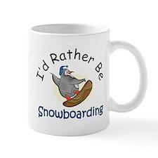 Snowboarding Small Mug