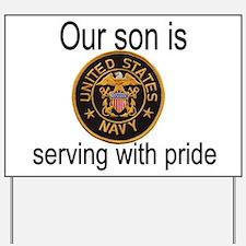 """Son In Navy"" Yard Sign"