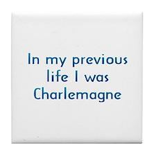 PL Charlemagne Tile Coaster