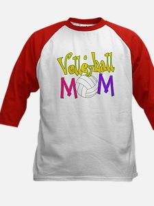 Volleyball Mom 4 Kids Baseball Jersey