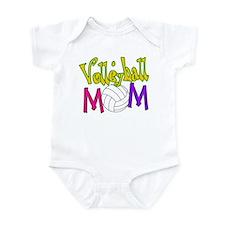 Volleyball Mom 4 Infant Bodysuit