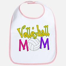 Volleyball Mom 4 Bib