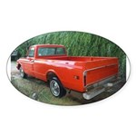 1971 C###y Truck Front & Rear Oval Sticker