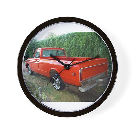 1971 C###y Truck Front & Rear Wall Clock