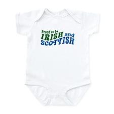 Proud to be Irish and Scottish Infant Bodysuit