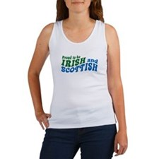 Proud to be Irish and Scottish Women's Tank Top