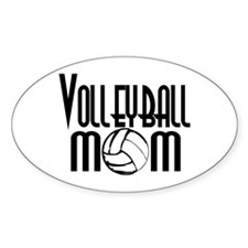 Volleyball Mom 5 Decal