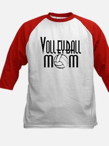 Volleyball Mom 5 Kids Baseball Jersey