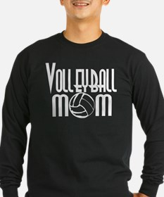 Volleyball Mom 5 T
