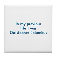 PL Columbus Tile Coaster