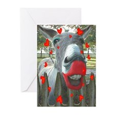 VALENTINE KISS Greeting Cards (Pk of 10)