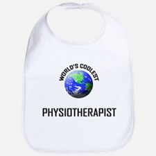 World's Coolest PHYSIOTHERAPIST Bib