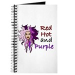 Red hot and purple Journal