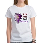 Red hot and purple Women's T-Shirt