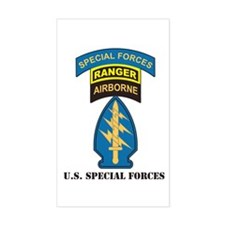 SF Patch Ranger Tab Special Sticker (Rectangular