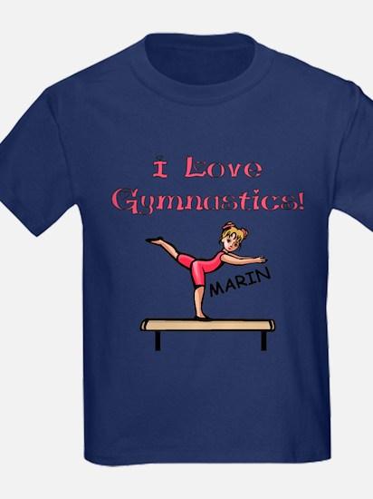 I Love Gymnastics (Marin) T
