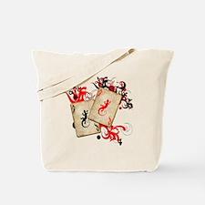 Gecko Gambler Tote Bag