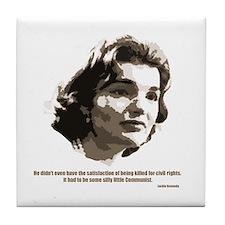Jackie Kennedy Tile Coaster