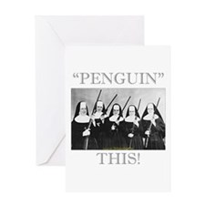 Penguin This Greeting Card