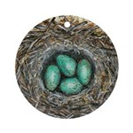 Crows Nest I Ornament (Round)