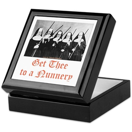 Get Thee to a Nunnery Keepsake Box
