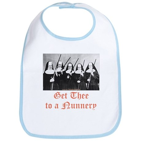 Get Thee to a Nunnery Bib