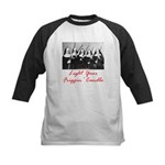 Light Your Candle Kids Baseball Jersey