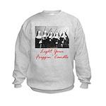 Light Your Candle Kids Sweatshirt