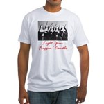 Light Your Candle Fitted T-Shirt
