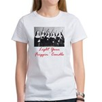 Light Your Candle Women's T-Shirt