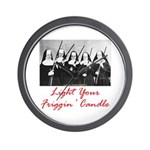 Light Your Candle Wall Clock