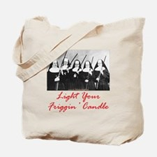Light Your Candle Tote Bag