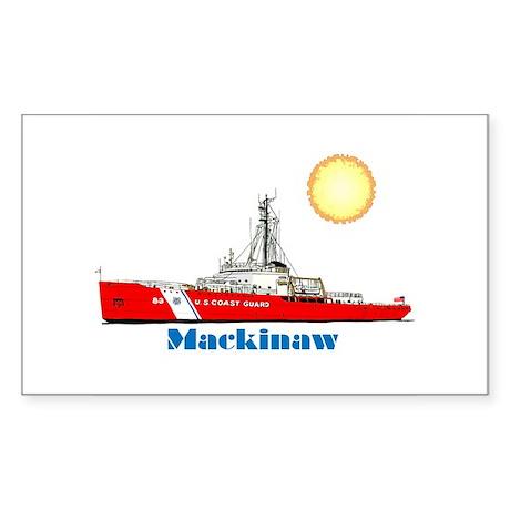 The Mackinaw Rectangle Sticker