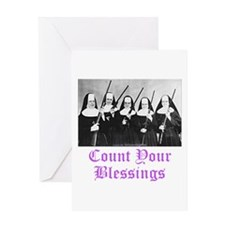 Count Your Blessings Greeting Card