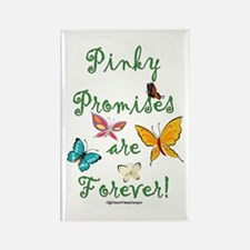 Pinky Promises Rectangle Magnet