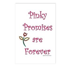 Pinky Promises Postcards (Package of 8)