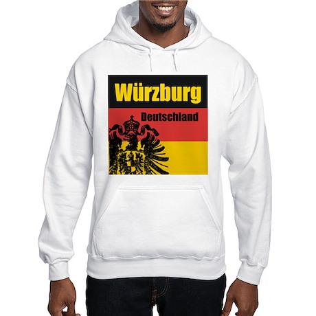 Würzburg Deutschland Hooded Sweatshirt