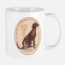 plott hound walks Mug