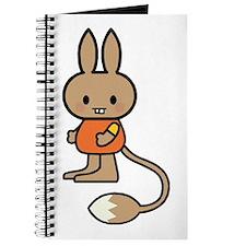 Cute Cartoon Rabbit Journal
