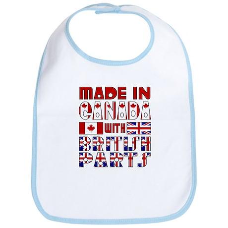 Canadian/British Parts Bib