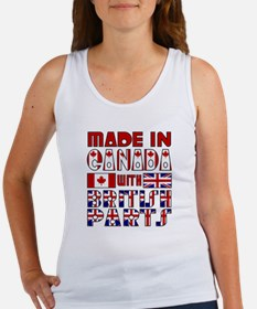 Canadian/British Parts Women's Tank Top
