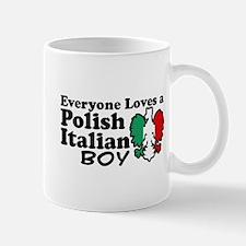 Polish Italian Boy Mug