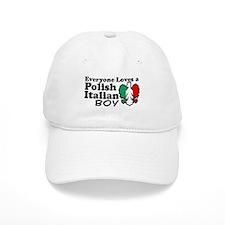Polish Italian Boy Baseball Cap