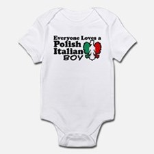 Polish Italian Boy Infant Bodysuit