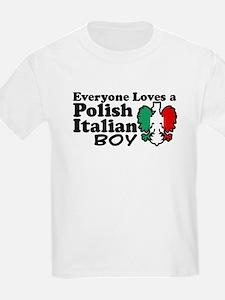 Polish Italian Boy T-Shirt