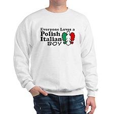 Polish Italian Boy Sweatshirt