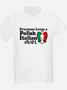 Polish Italian Girl T-Shirt